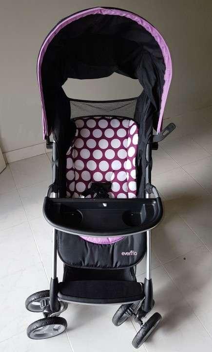 Carrito con baby seat