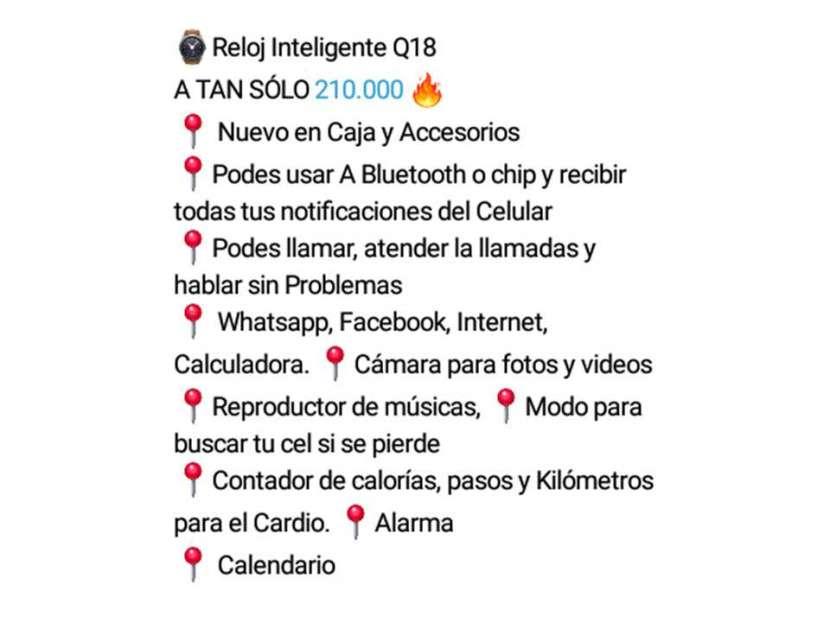 Reloj Inteligente Q18 - 1
