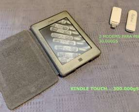 Kindle Touch - ebook reader
