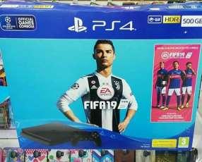 PS4 de 500 gb con 1 juego