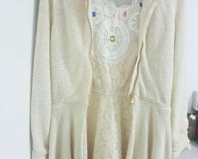 Saco Zara + vestido