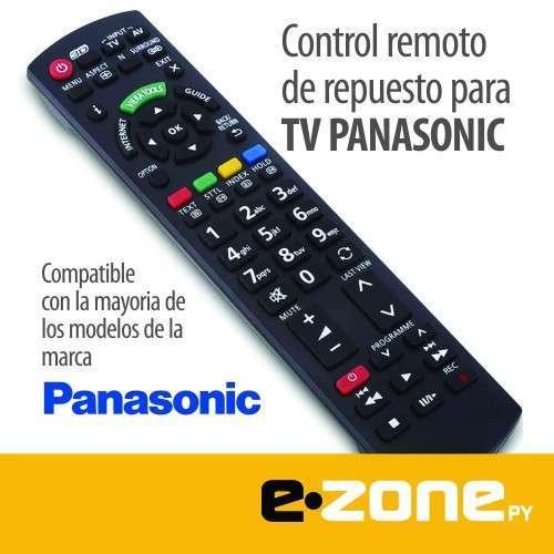 Control remoto de repuesto para TV Panasonic - 0