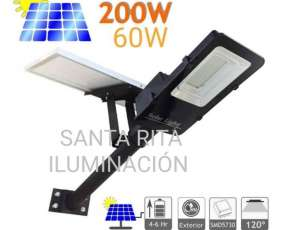 Alumbrado público LED Solar
