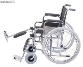 Silla de ruedas estándar con relajación de piernas