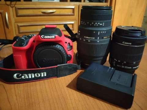 Cámara Canon SL2 - 0