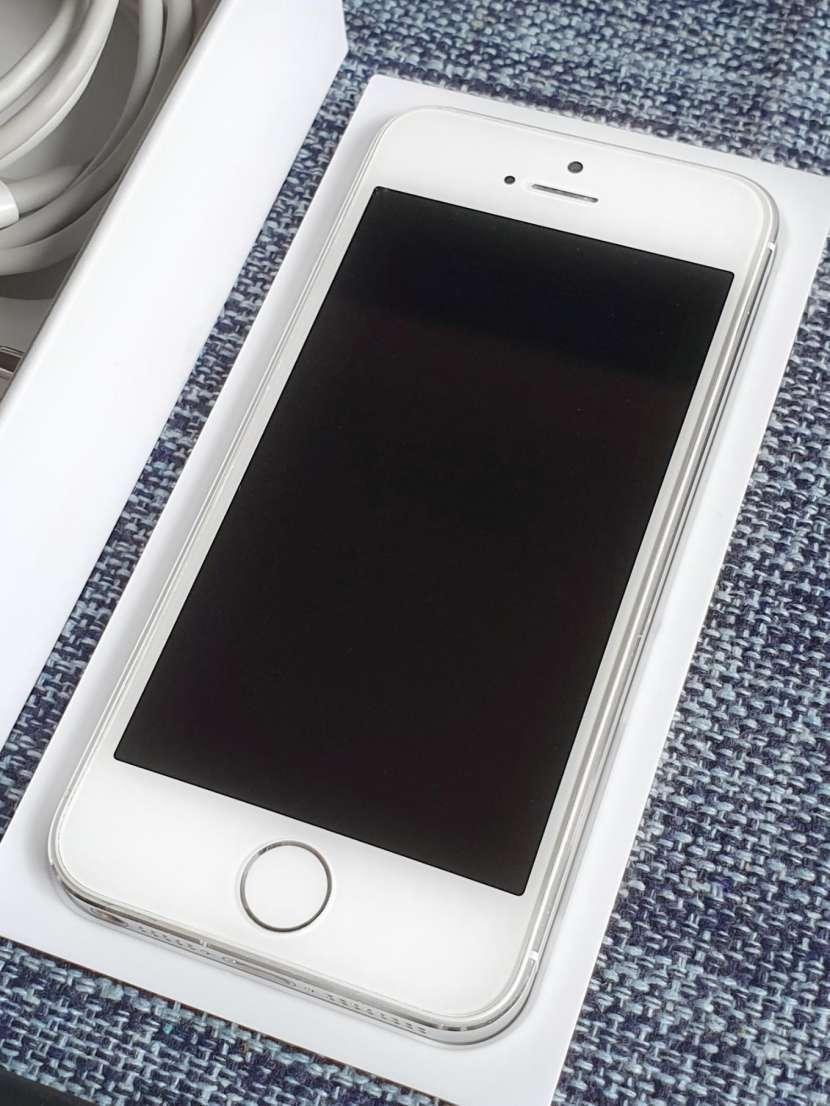 iPhone 5s de 32 gb silver/plata - 1