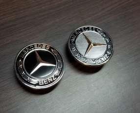 Emblemas de capot para Mercedes