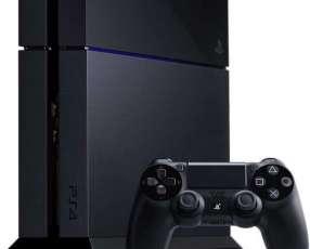 PlayStation 4 con 2 controles y 2 juegos