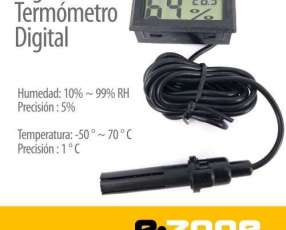 Mini Termómetro/ Higrómetro LCD Digital