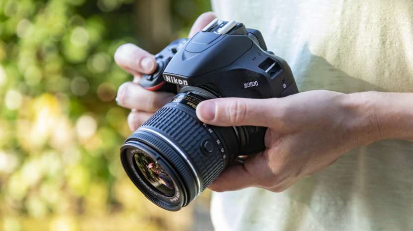 Cámara digital 24,2 MP VR Nikon D3500 kit 18-55mm - 0