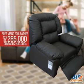 Sofá Eco Leather con vibro masajeador