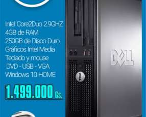 Computadora dell optiplex doble núcleo