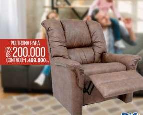Sofa Poltrona PAPA reclinable