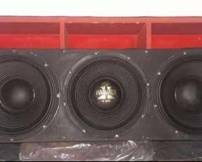 Caja de audio