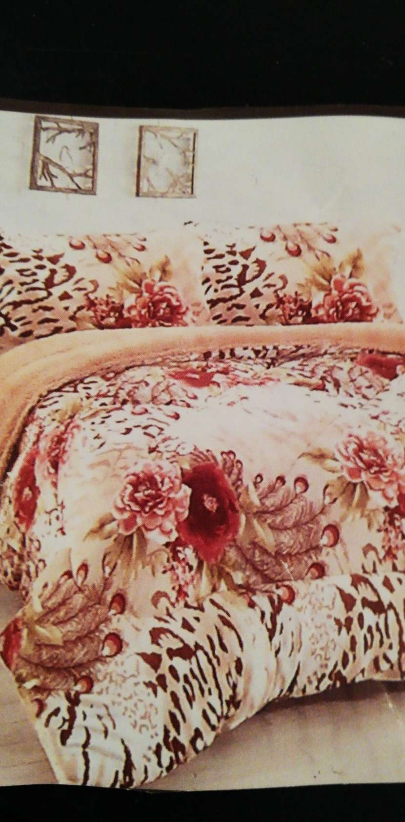 Edredón anti alérgico con corderito y fundas