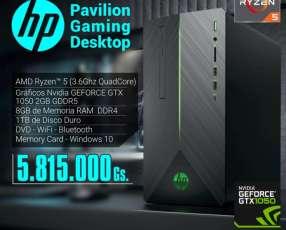 Computadora HP Pavilion gaming desktop