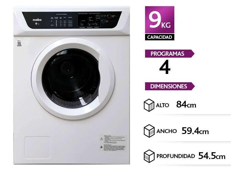 Secadora automática Mabe SEM81BDBY blanco - 2