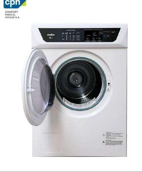 Secadora automática Mabe SEM81BDBY blanco - 0