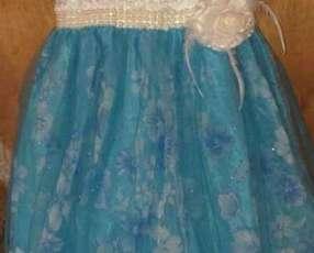 Vestido para niña de 7 años