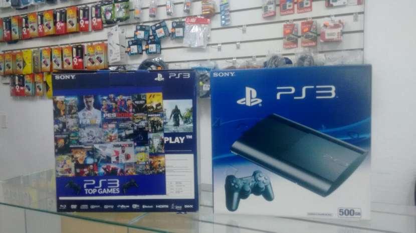 PS3 500 gb 70 juegos - 0