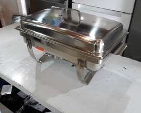 Bufetera/chafing rishot doble bacha