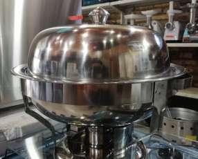 Bufetera/chafing rishot oval 6.5 lts