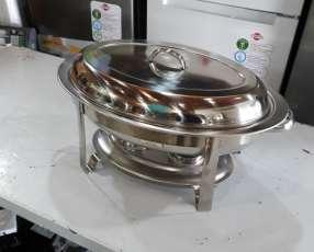 Bufetera/chafing rishot ovalada nueva