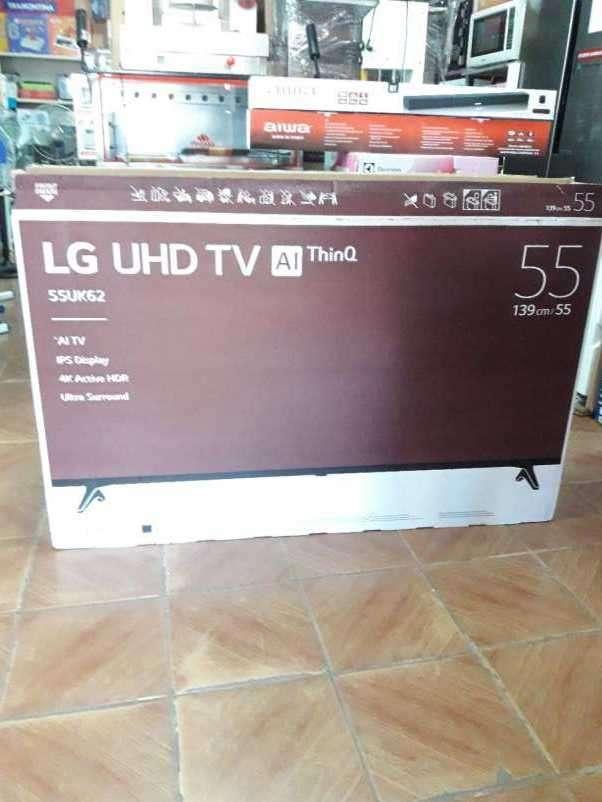 TV LED Smart LG UHD 4K de 55 pulgadas