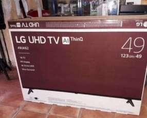 TV LED Smart LG full UHD 4K de 49 pulgadas de regalo un parlante LG