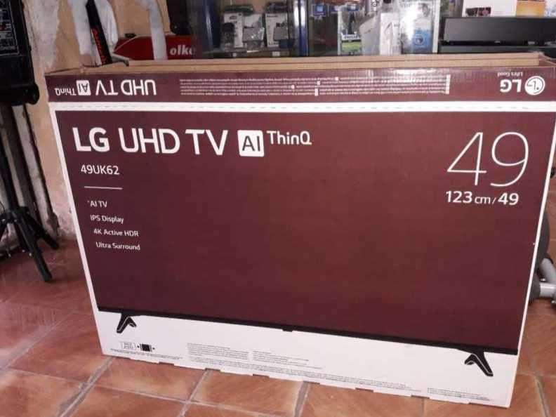 TV LED Smart LG full UHD 4K de 49 pulgadas - 0