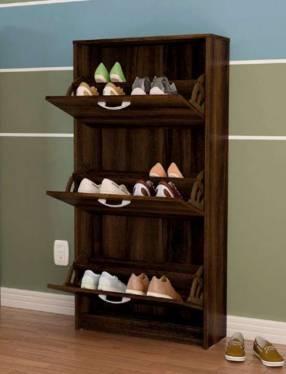 Zapatero de 3 cajones para 12 pares de zapatos