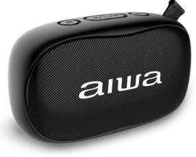 Parlante portátil Aiwa – AW-S21-BK