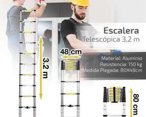 Escalera Telescópica 3.2 mts