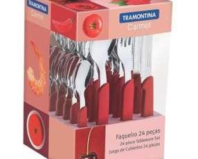 Juego de cubiertos 24 piezas Tramontina Carmel