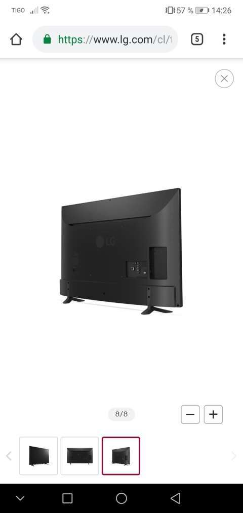 Tv smart LG 49 pulgadas 4K Ultra HD - 3