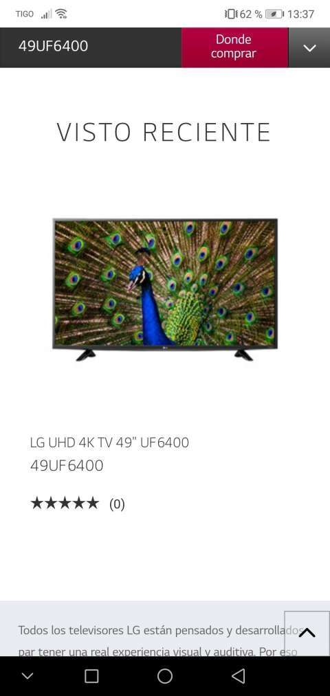 Tv smart LG 49 pulgadas 4K Ultra HD - 7