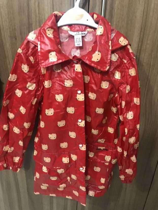 Impermeable para niña con motivo de Hello Kitty - Talle 7-8