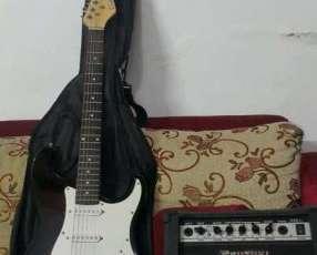 Guitarra Suzuki+Amplificador