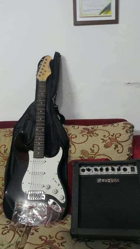 Guitarra Suzuki+Amplificador - 0