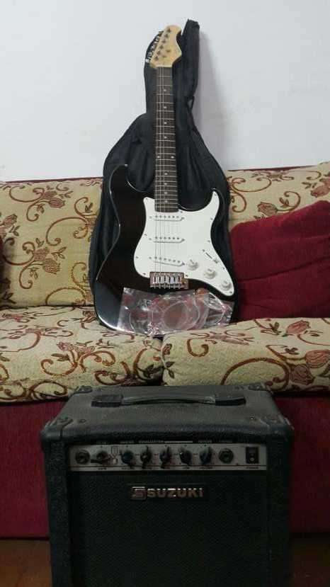 Guitarra Suzuki+Amplificador - 1