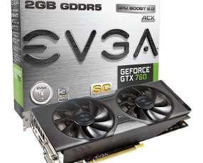 Tarjeta Gráfica EVGA Nvidia Geforce GTX 760
