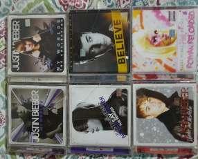 CDs ORIGINALES de Justin Bieber y Nicki Minaj