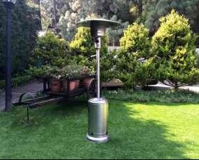 Estufa-Calefactor a gas para exteriores
