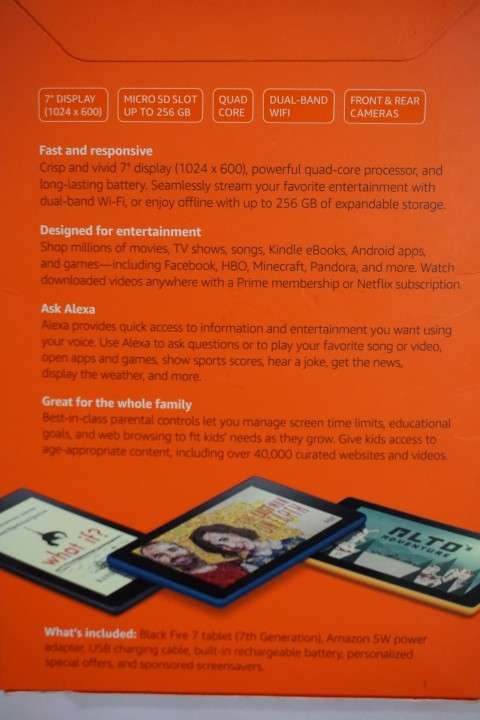 Tablet Fire 7 con Alexa traído de Estados Unidos - 1