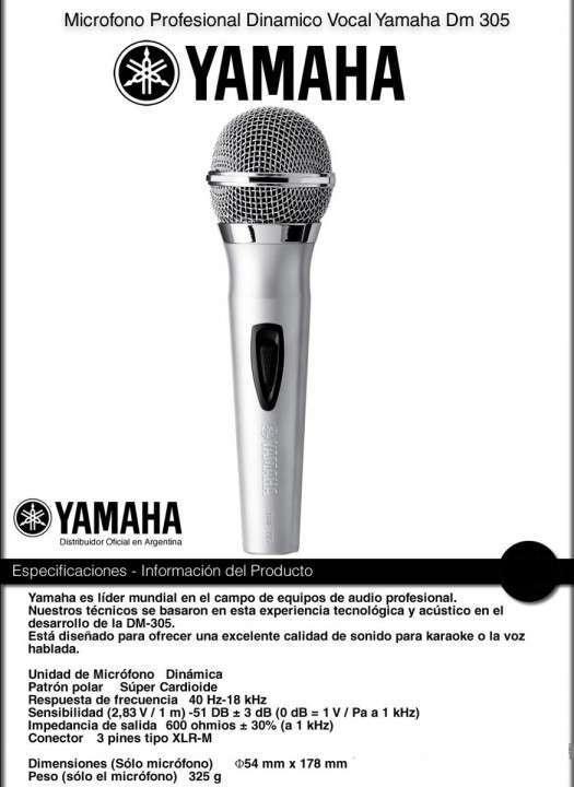 Micrófono Yamaha Dm 305 - 1