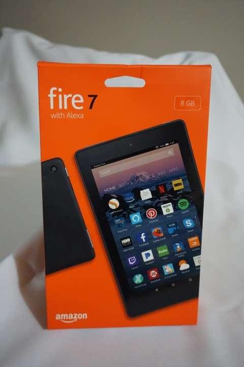 Tablet Fire 7 con Alexa traído de Estados Unidos - 0