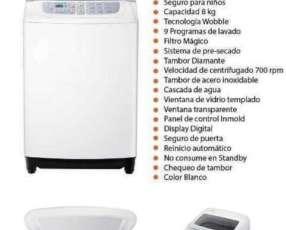 Lavarropa automática Samsung de 8 kilos