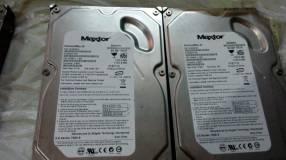 Disco duro IDE de 80 gb Maxtor