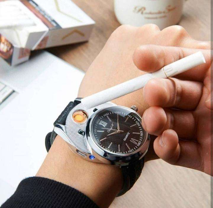 Reloj con encendedor - 0