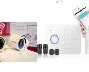 Cámaras más alarma GSM